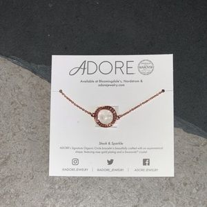 Adore by Swarovski Rose Gold Bracelet